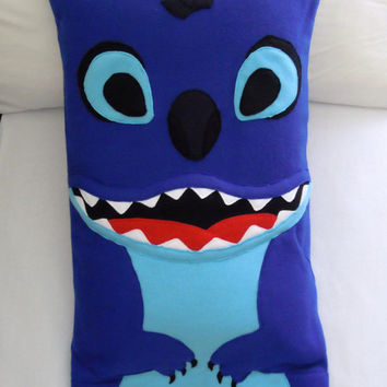 Stitch Fleece Pillowcase, Lilo and Stitch