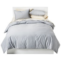 Solid Cotton Blend Duvet Cover Set - Room Essentials™ : Target