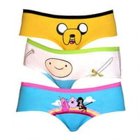 Adventure Time: Rainbow Underwear Panty Pack |