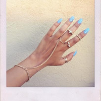 Brooklyn Sky Ring Set- Gold