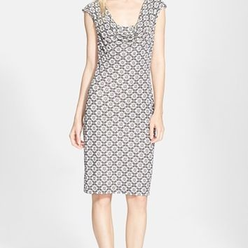 Women's Tory Burch Cowl Neck Dress,