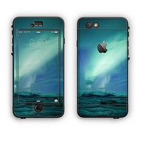 The Glowing Northern Lights Apple iPhone 6 Plus LifeProof Nuud Case Skin Set