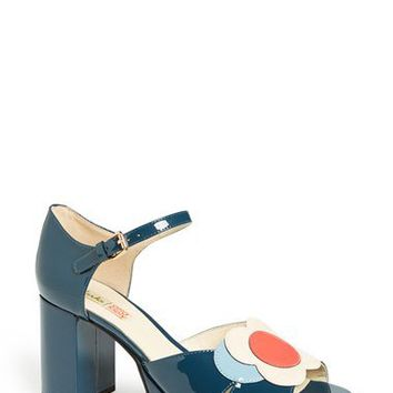 Clarks® x Orla Kiely 'Betty' Patent Leather Platform Sandal (Women) | Nordstrom