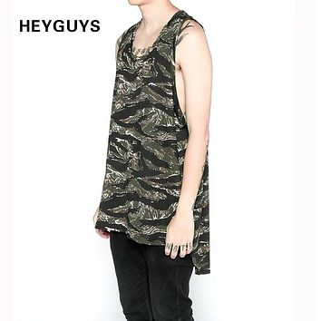 New Fashionable men's fashion casual leisure render tank top high quality