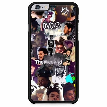 The Weeknd Collage iPhone 6 Plus/ 6S Plus Case