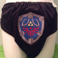 Legend of Zelda Hyrule Shield Cloth Diaper Pocket
