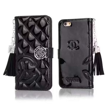Perfect Chanel Fashion Iphone Phone Cover Case For Iphone 6 6s 6plus 6s-Plus 7 7plus 8 8plus X