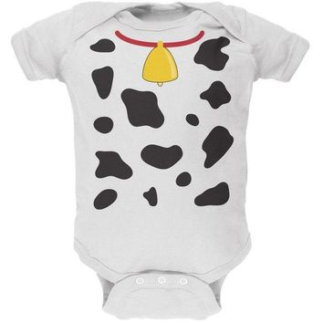 PEAPGQ9 Halloween Cow Costume Baby One Piece