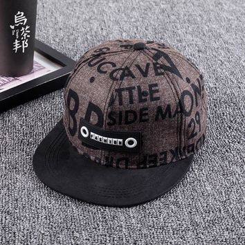 Trendy Winter Jacket 2018 fashion new baseball hat hip hop summer flat cap men and women casquette homme SnapBack hat chance the rapper bone caps AT_92_12