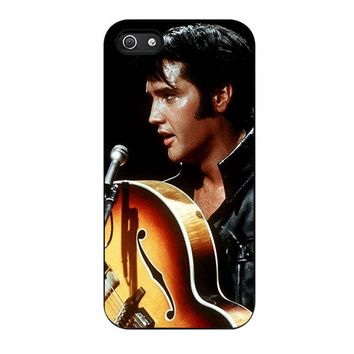 Elvis Presley Rockstar three iPhone 5/5s Case