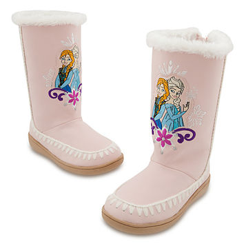 Anna and Elsa Boots for Girls - Frozen