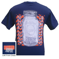 Auburn Tigers War Eagle Perfection Mason Jar Bright Comfort Colors T Shirt