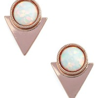 CAM Stone Triangle Studs | Nordstrom