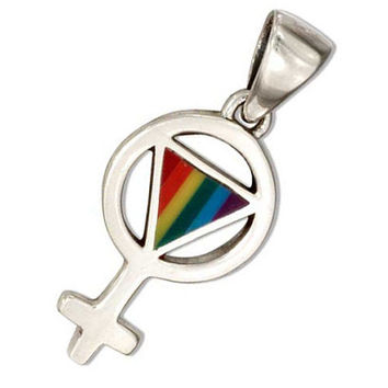 SALE Sterling Silver Pride Charm