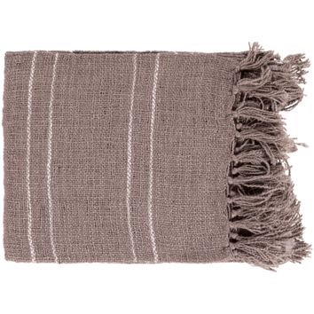 Traveler Throw ~ Medium Gray