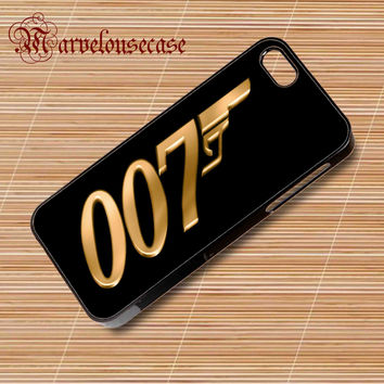 James bond 007 gold custom case for all phone case