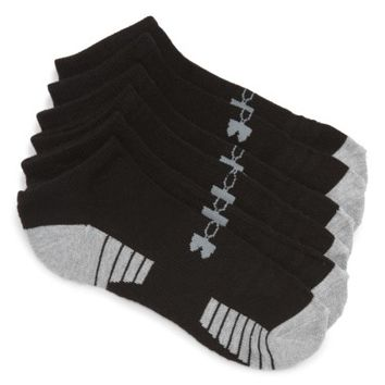 Under Armour HeatGear 3-Pack No-Show Socks | Nordstrom