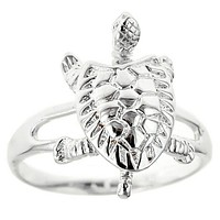 Maryland Turtle (Sterling Silver) / Ring