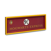 Exclusive Platform 9 3/4 Hogwarts Express Sign