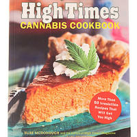 Chronicle Books Cookbook Official High Times Cannibis