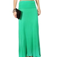 Kelly Green Maxi Skirt