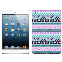 Apple iPad Mini Aztec Andes Mauve and Teal Pattern Case