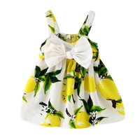 Baby Girls Lemony summer dress