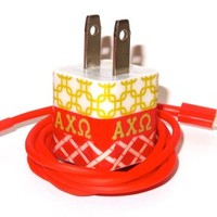 Alpha Chi Omega Sorority Mobile Charger