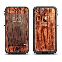 The Warped Wood Apple iPhone 6 LifeProof Fre Case Skin Set