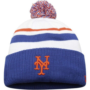 New York Mets New Era Patch Is Proof Knit Hat – Royal Blue