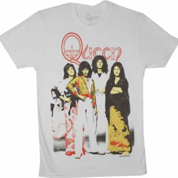 Queen Band Portrait T-Shirt at Old School Tees