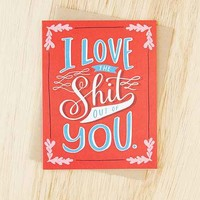 Emily McDowell I Love The... Card- Red One