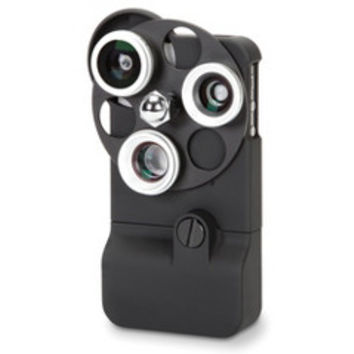 The Tricloptic iPhone Camera Lens - Hammacher Schlemmer