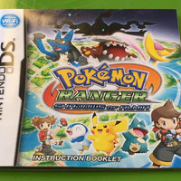 Original Instruction Manual - Pokemon Ranger: Shadows of Almia - Nintendo DS (NO GAME)