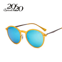 Women Brand Polarized Round Sunglasses Outdoor Apparel Men Sun Glasses 4224