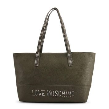 Love Moschino Jc4063Pp16Ls Women Green Shopping bags