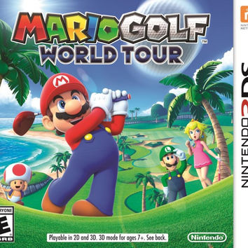 Mario Golf: World Tour - Nintendo 3DS (Game Only)