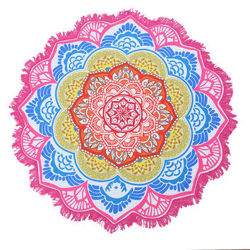 Lotus Beach Towels