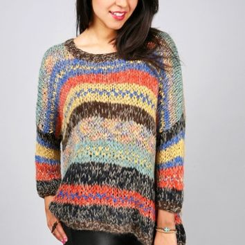 Surge Knit Sweater   Baggy Knits at Pink Ice