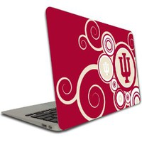 Indiana University - Macbook Air (11 inch) Vinyl, Removable Skin - IU Swirl Design