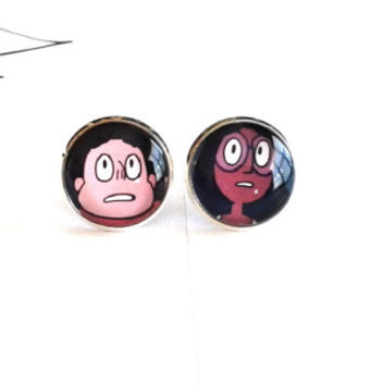 Made To Order - Steven Universe & Connie Earrings