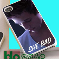 Cameron Dallas She Bad To Number One For Iphone 4/4s, iPhone 5/5s, iPhone 5C, iphone 6, and iPhone 6 Plus Case