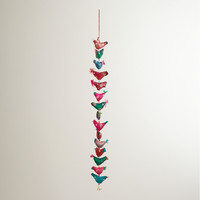 Silk Birds Wall Hanger - World Market