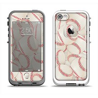 The Baseball Overlay Apple iPhone 5-5s LifeProof Fre Case Skin Set
