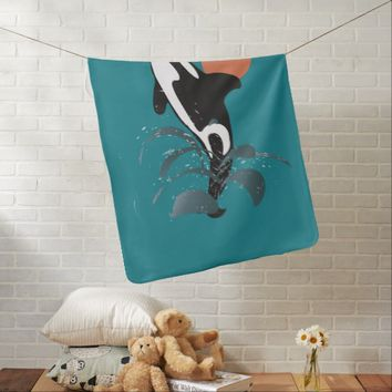 Orca Receiving Blankets