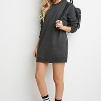 Longline Zipped Sweatshirt