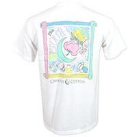 Crescent Cotton The South T-Shirt - White