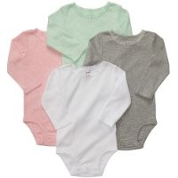 Carter's Baby Girls' 4 Pack Bodysuits (Baby) - Assorted