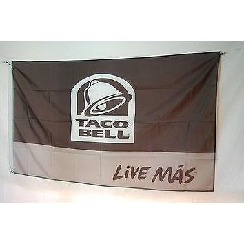 Taco Bell Promotion advertising decoration franchise fast food FLAG Banner 3x5