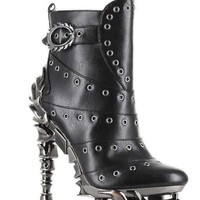 Hades Alternative Shoes Raven Black Boots
